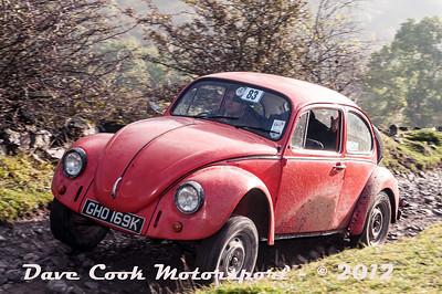 No. 083 Sam Thompson and Wayne Smart, Class 4, 1300cc VW Beetle