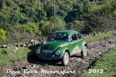 No. 146 Samuel Holmes and Chris Wood, Class 4, 1285cc VW Beetle