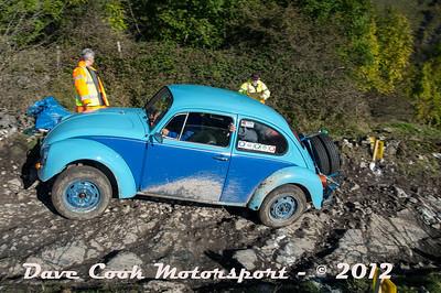 No. 145 John White and Paul Bartleman, Class 4, 1285cc VW Beetle