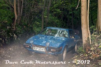 No. 094 Brian Shore and TBA Somerton, Class 5, 3528cc TR7 V8