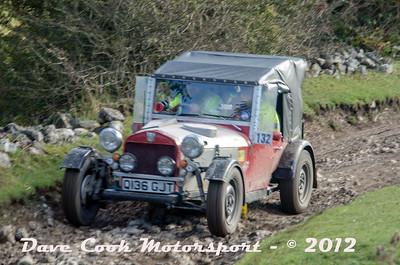 No. 132 Michael Grieve and Phillip Hacker, Class 8, 2000cc Morris Spl