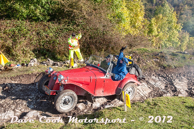 No. 111 Mike Pearson and Graham Proctor, Class 8, 1600cc Dellow MK2