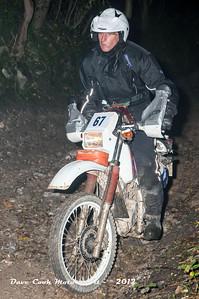 No. 67 Derek Walter, Class B, 200cc Honda XLR