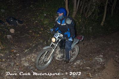 No. 43 Jeff Hodges, Class B, 200cc Beta Alp