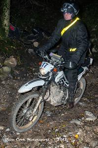 No. 17 Philip Sanders, Class B, 250cc Yamaha Serow