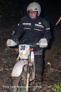 No. 30 Trevor Gibb, Class B, 223cc Yamaha Serow