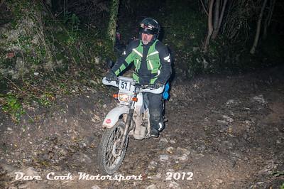 No. 57 Graham Lloyd, Class B, 225cc Yamaha Serow