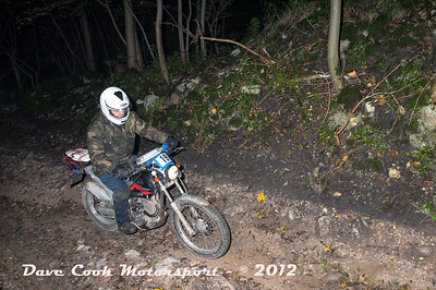 No. 19 Tim Kingham, Class B, 225cc Yamaha Serow