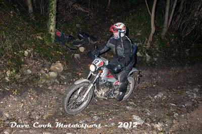 No. 12 Richard Harvey, Class C, 600cc Yamaha XT