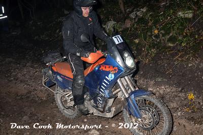No. 71 Richard Griffin, Class C, 942cc KTM Adventure