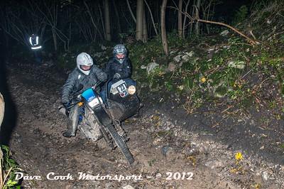 No. 23 Bernard Wilson and Garry Plummer, Class D, 600cc Yamaha XT