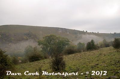 Mist rising from Monsal Dale as Dawn breaks