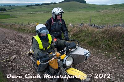 No. 501 Celia Walton and Alison Ingram, Class O, 650cc Honda Wasp