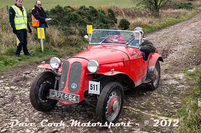 No. 511 John Mastin and Brian Woodhouse, Class O, 1172cc Dellow Mk1