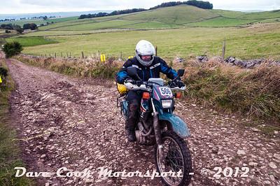 No. 506 Thomas Derrington, Class O, 600cc Yamaha XT