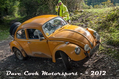 No. 180 Alan Treloar and Jim Beech, Class 6, 1776cc VW Beetle