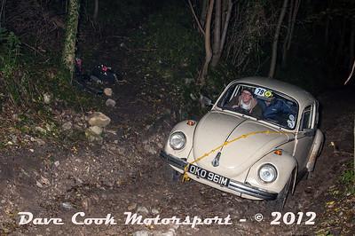 No. 079 James Arrowsmith and Richard Molloy, Class 6, 1600cc VW Beetle