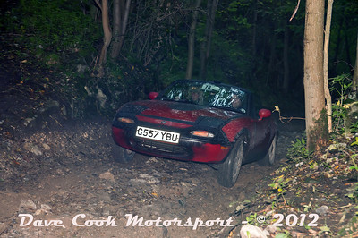 No. 078 Chris Bowling and Paul Coombs, Class 6, 1800cc mazda mx5