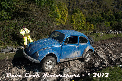 No. 165 Richard Peck and Paul Gregory, Class 6, 1776cc VW Beetle