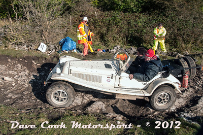 No. 113 Stuart Highwood and Mark Ensoll, Class 7, 1798cc Marlin Roadster