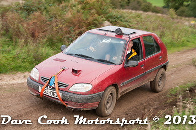 D30_0448 - Phillip Childs and Andrew Richardson; Citroen Saxo