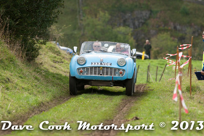 DSC_1151 - Phillip and Tricia Tucker; Triumph TR3A