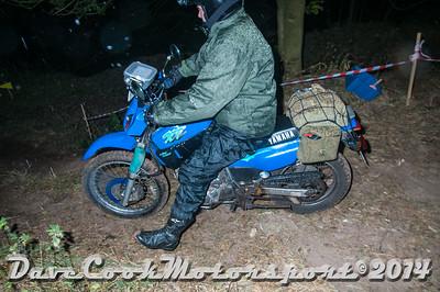 D30_7825 -  No. 504, Keith  Clarke:  Class O Yamaha  XT600
