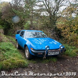 D30_8175 -  No. 95, Brian  Shore / Adrian  Grinter:  Class 5 Triumph  TR7 V8