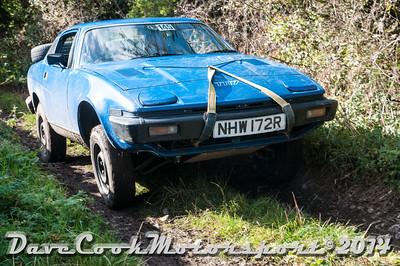 D30_8345 -  No. 145, Michael  Crewes / Ian  Lee:  Class 5 Triumph  TR7