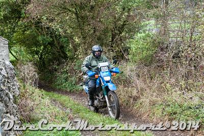 D30_8261 -  No. 504, Keith  Clarke:  Class O Yamaha  XT600