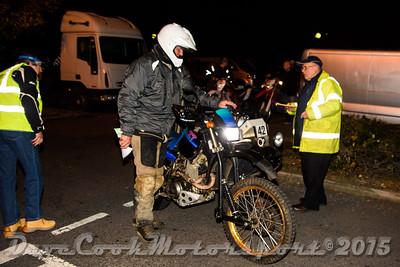 D72_4908 Start -   No. 42, Bernard Wilson / Garry Plummer:  Class D Yamaha XT