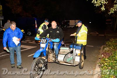 D72_4882 Start -   No. 43, Ian Watkins / Jason Hammersley:  Class D Yamaha XT600