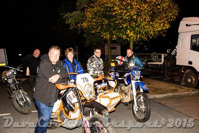 D72_4886 Start -   No. 16, Peter Hydemonk:  Class C Yamaha and  No. 70, Tim Hawkins / Tracey Griffin:  Class  KTM