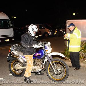 D72_4896 Start -   No. 61, Roger Morris:  Class B Kawasaki Super Sherpa