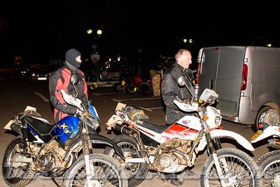D72_4878 Start -   No. 79, Adam Walter:  Class B Yamaha XT and No. 78, Derek Walter:  Class  Bonhams Serow