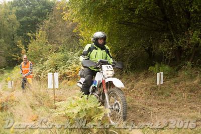 D72_5593 Clough Mine -   No. 74, Stephen Bould:  Class B Yamaha Serow