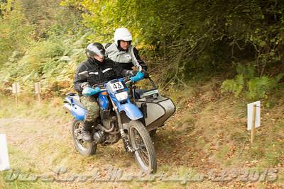 D72_5486 Clough Mine -   No. 43, Ian Watkins / Jason Hammersley:  Class D Yamaha XT600