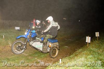 D72_5017 Calton -   No. 43, Ian Watkins / Jason Hammersley:  Class D Yamaha XT600