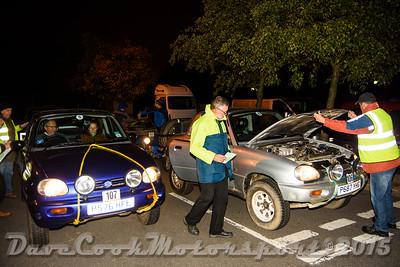 D72_4943 Start -   No. 106, Roger & Tania Beaumont:  Class 5 Suzuki X-90 and No. 107, Kevin Sharp / Diana Johnson:  Class  Suzuki X-90