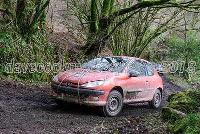 D50_9966 -  No. 133, Richard Feather and Andy Westlake:  Class 1 Peugeot 206