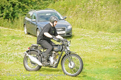 The oldest Bike on the Trial, Stephen Bailey's Velocette MAC