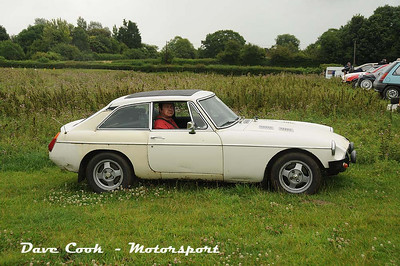 This MGB GT was in with the saloon cars