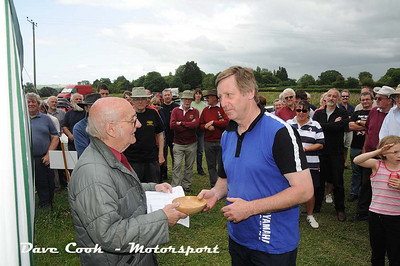 Paul Allaway came second in the 4 wheels with a roof class in his Vauxhall Astra.