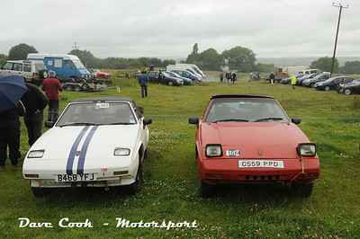 You don't often see 2 Reliant SS1's at an event