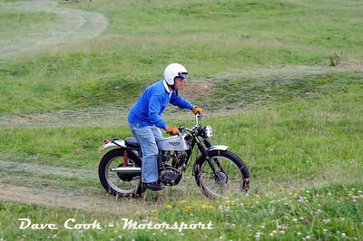 Class A No. 02 Tim Keeling  -  Triumph Tiger Cub