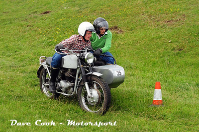 Class B No. 25 Peter and Nicky Vaughan - Norton SMG