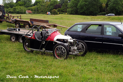 Another view of the Morgan 3 Wheeler