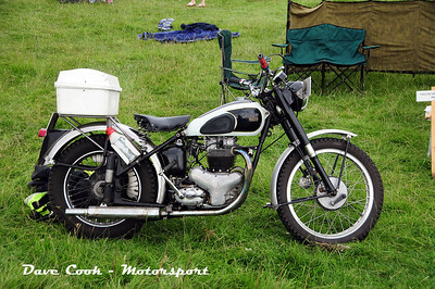 Another Visitor, a BSA A10