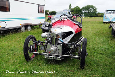 Another Visitor, a Single cylinder Morgan 3 wheeler