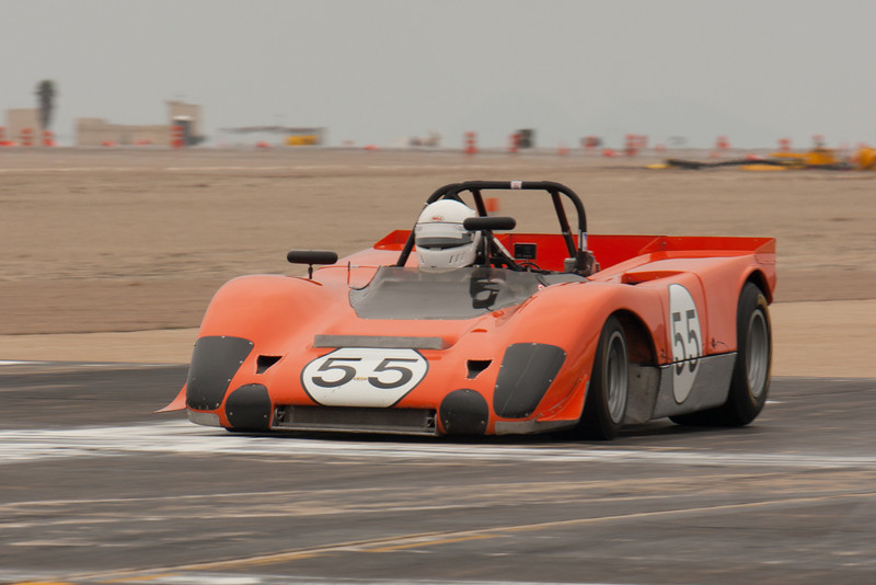 Phillipe Reyns in his Orange 1971 Lola T-212.
